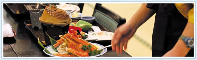 熱川大和館全てを選べる四季折々の料理