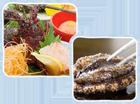 海の幸が詰まった料理